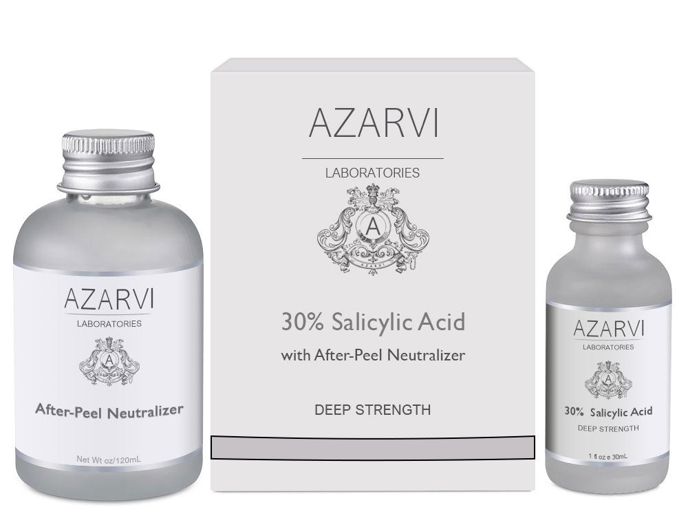 30 salicylic acid peel instructions