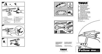 thule adventurer installation instructions
