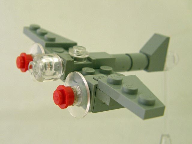 simple lego airplane instructions