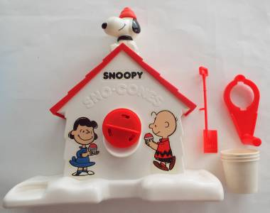 snoopy sno cone machine flavor mix instructions