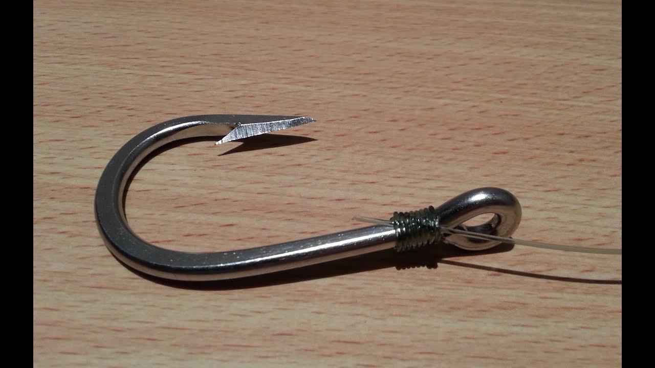 fish hook knot instructions