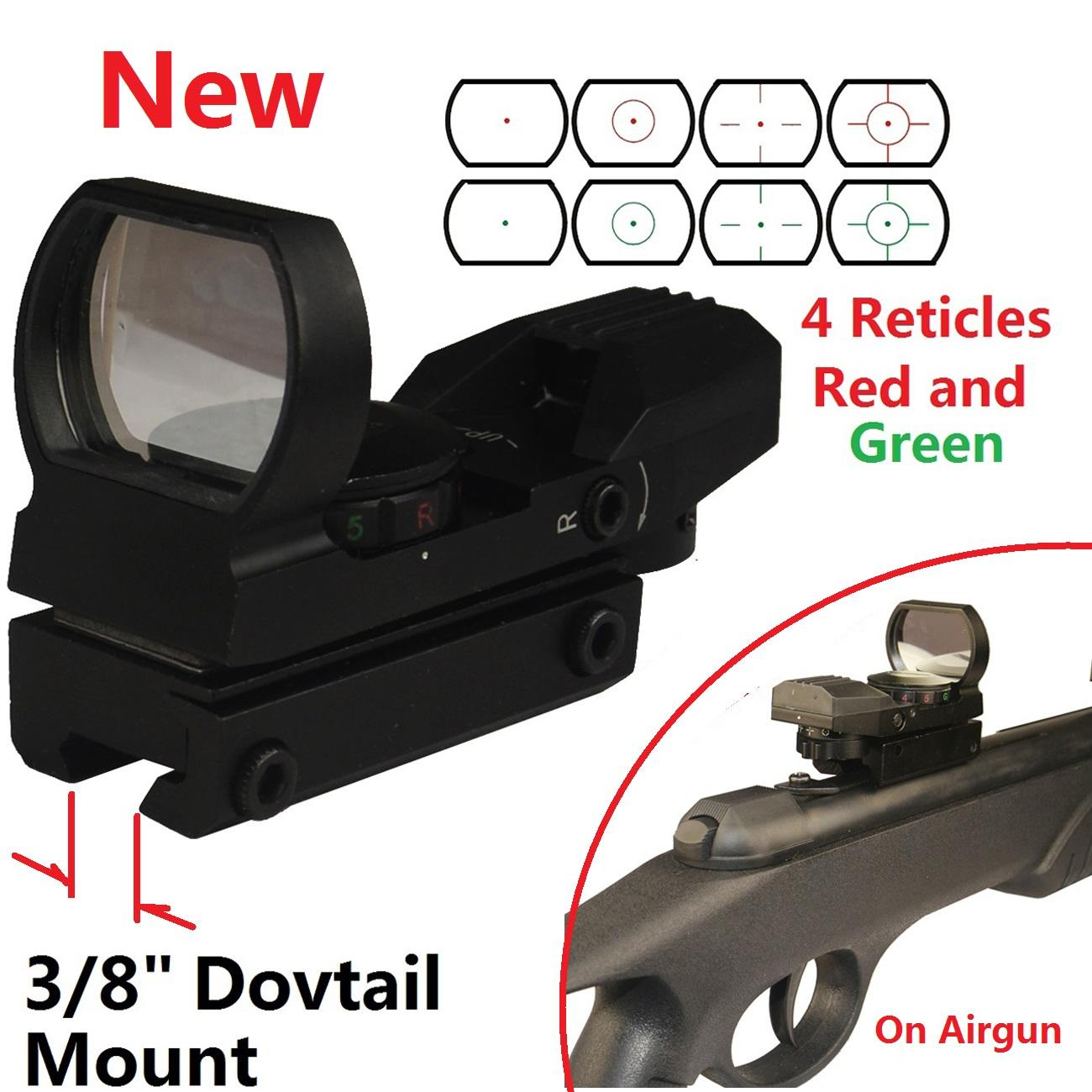 field sport red and green reflex sight instructions