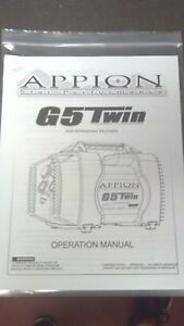 appion g5 twin rebuild instructions