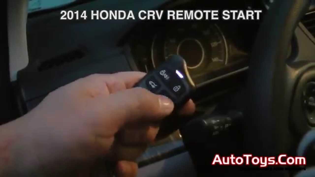 2014 honda crv remote start instructions