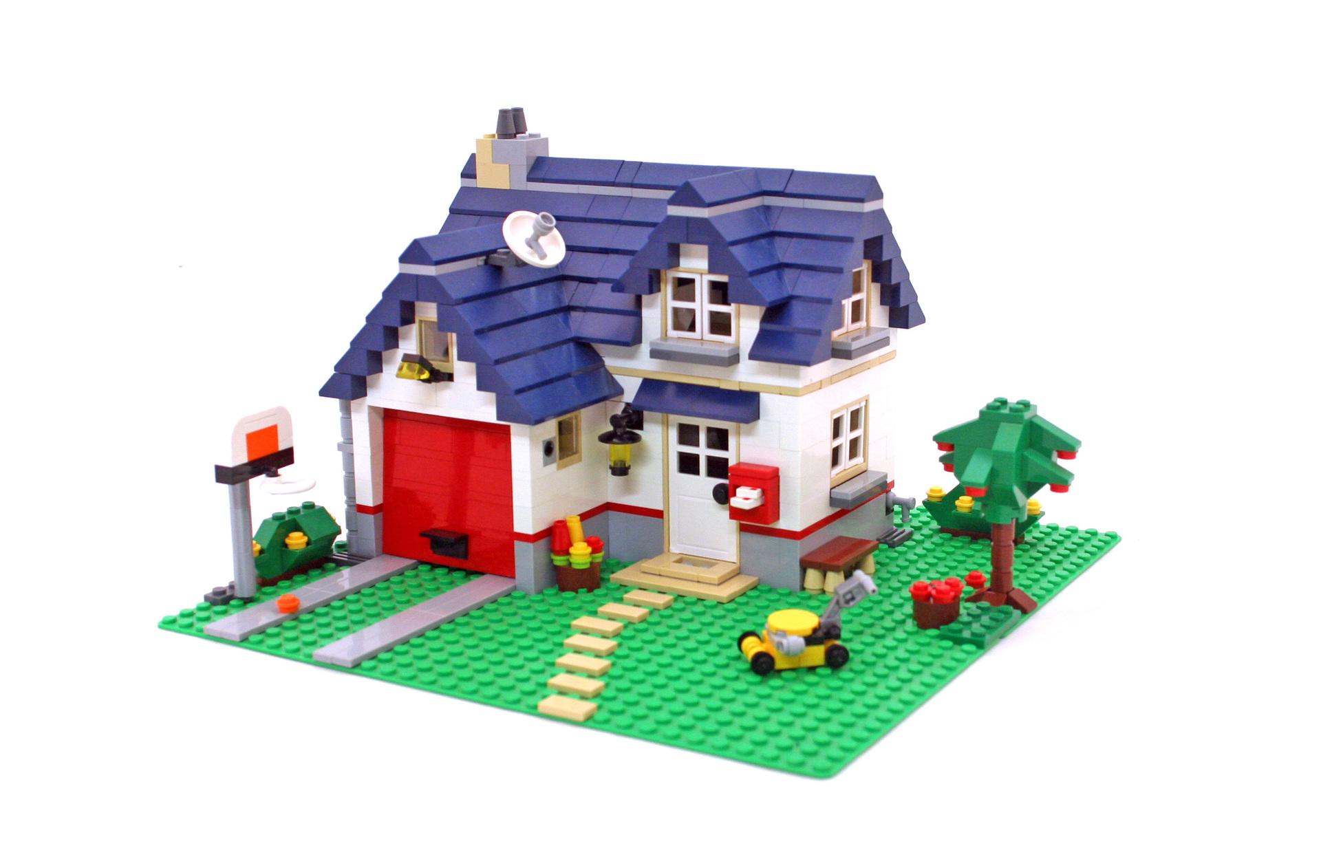lego apple tree house instructions