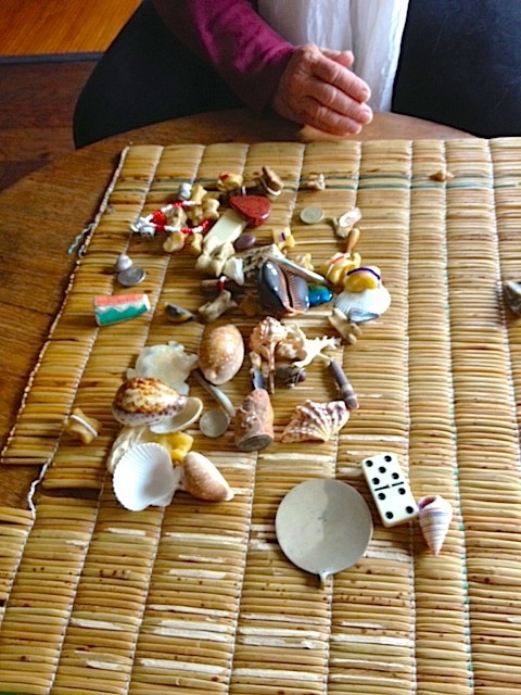 sangoma style bone reading set with instructions
