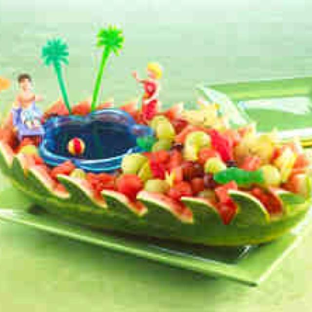 watermelon pirate ship instructions