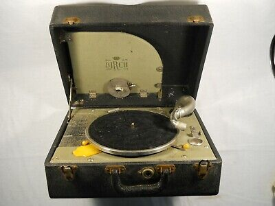 victrola record player instructions