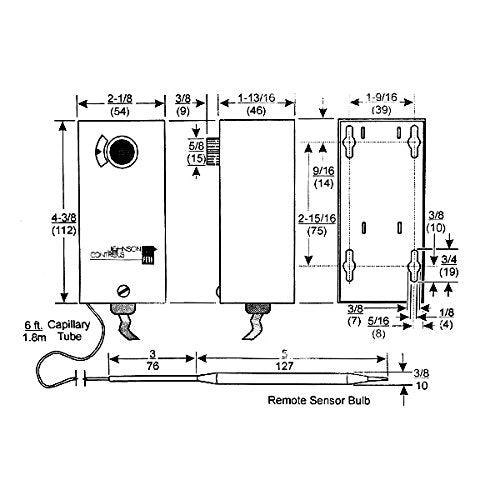 johnson controls refrigerator thermostat instructions