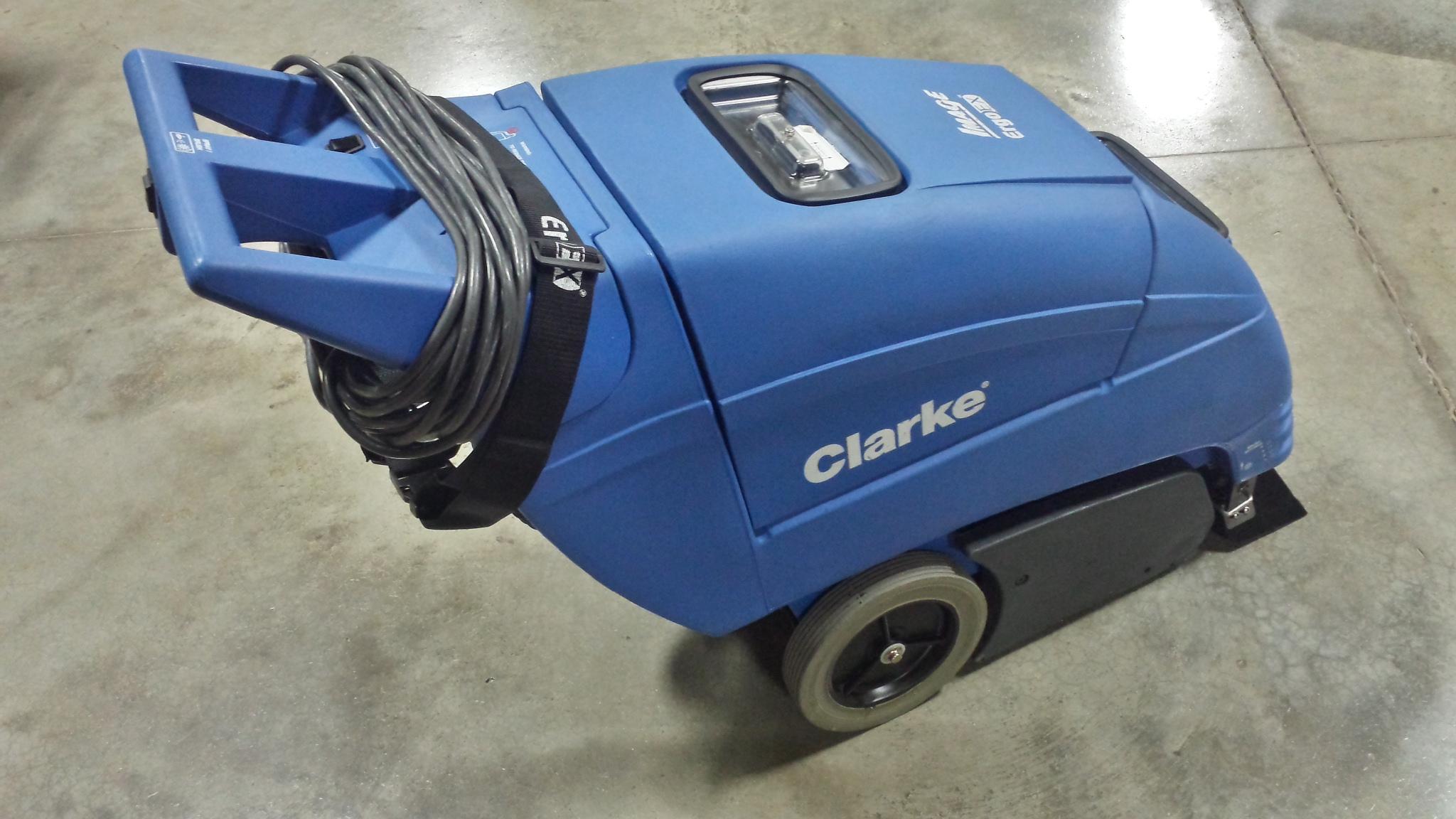 clarke carpet extractor instructions