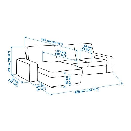 ikea kivik 3 seater sofa instructions
