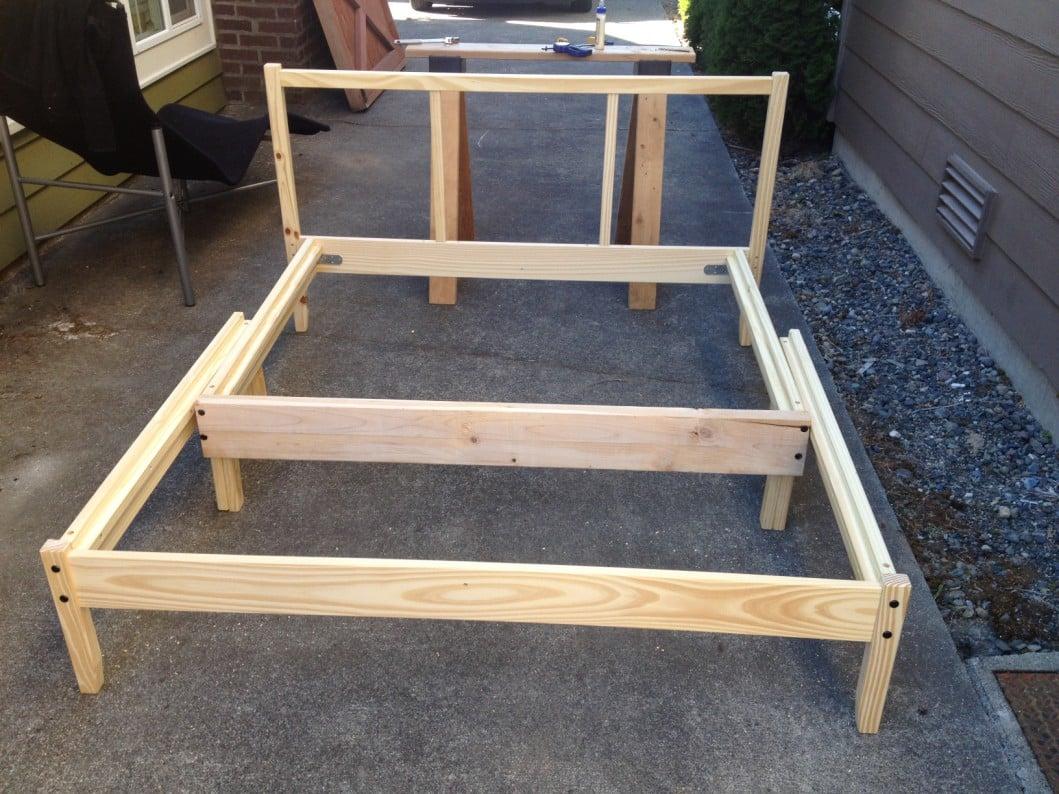 ikea fjellse full bed frame instructions