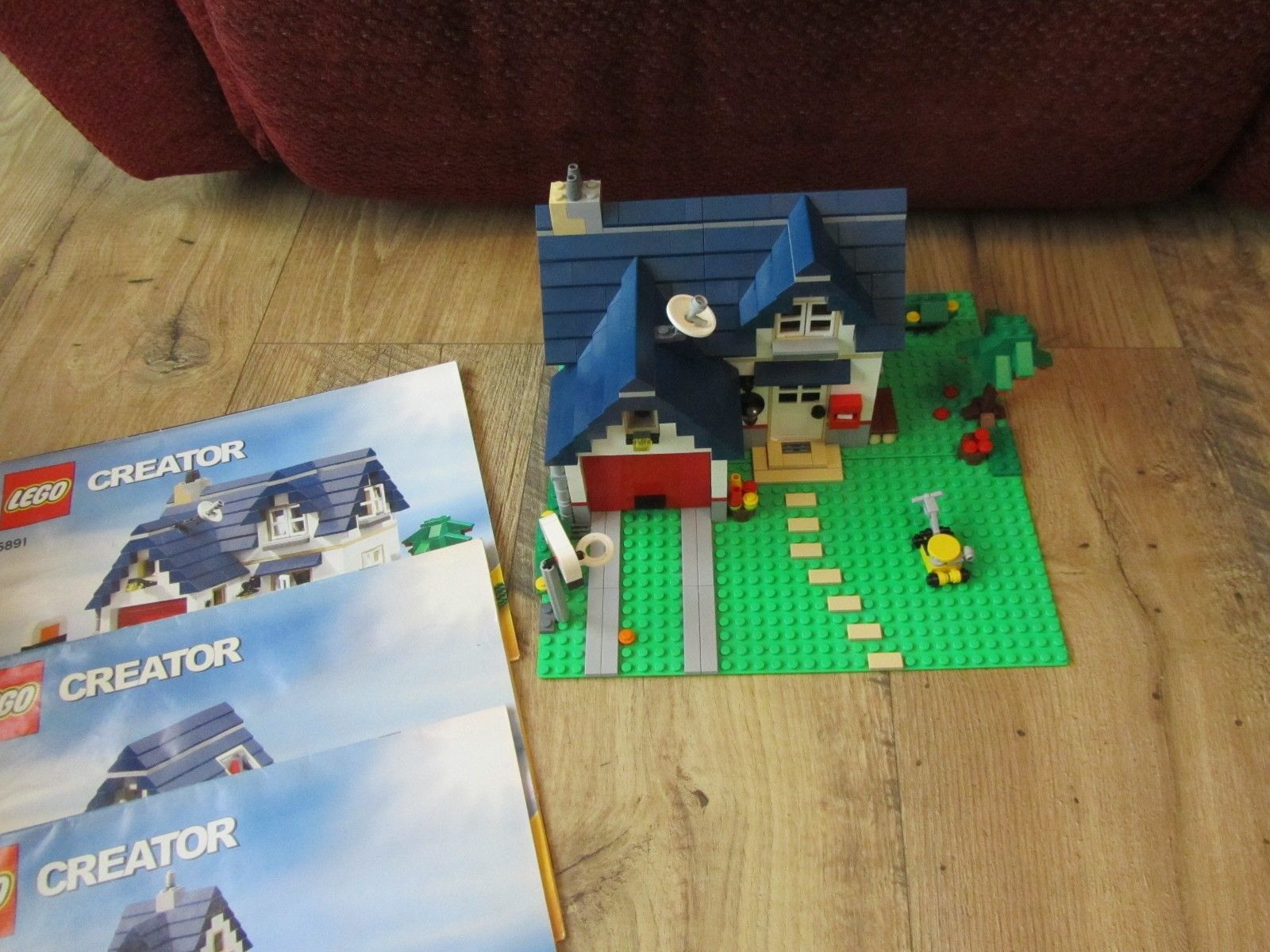 lego apple tree house instructions