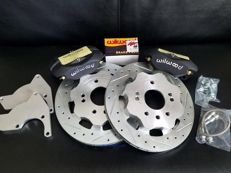 wilwood rear disc brake instructions