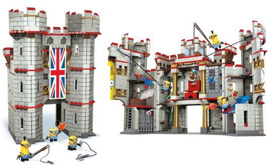 mega bloks minions castle adventure instructions