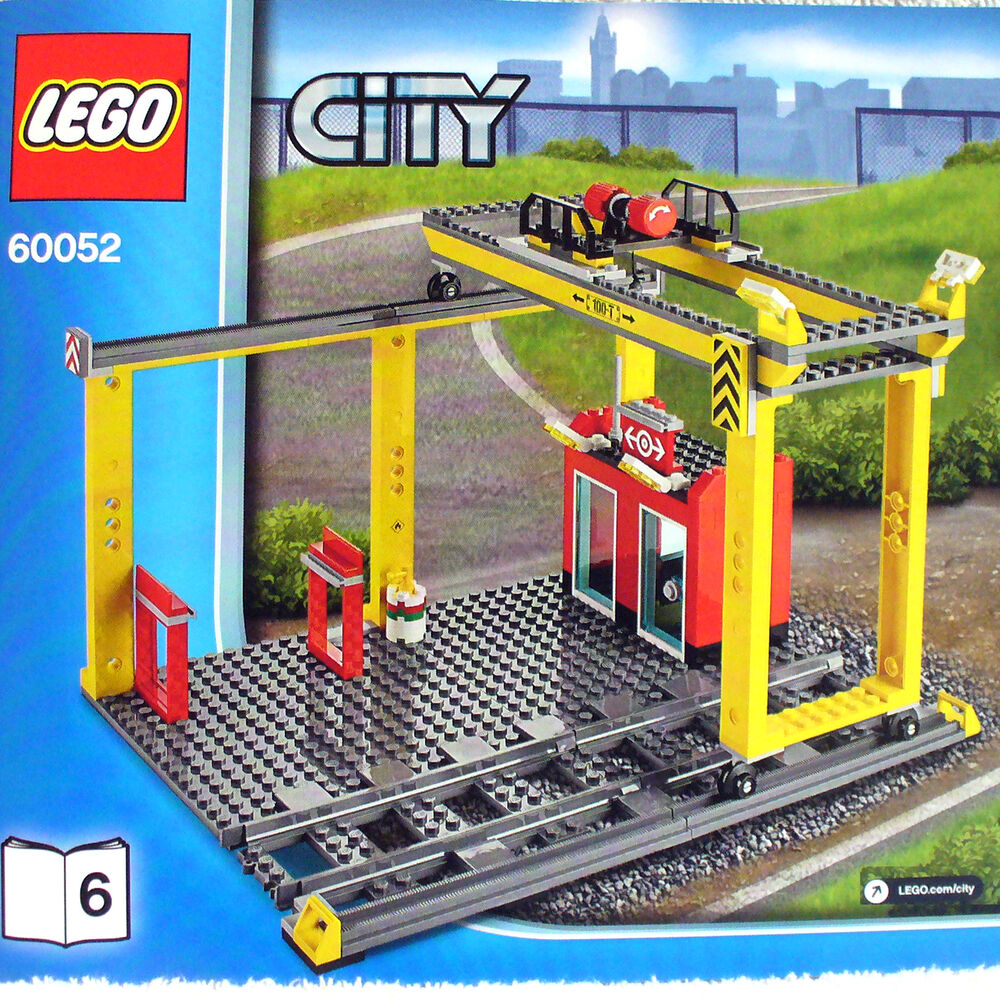 lego cargo train 60052 instructions