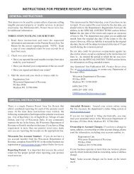 wisconsin tax return instructions