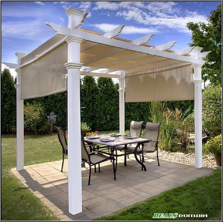 hampton bay arched pergola instructions