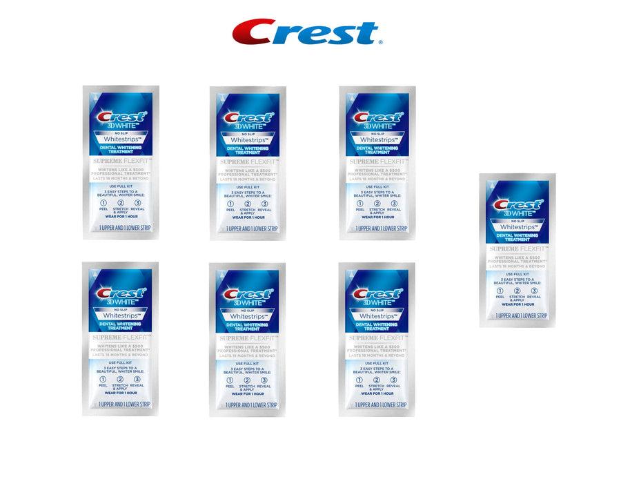 3d crest white strips luxe supreme flexfit instructions