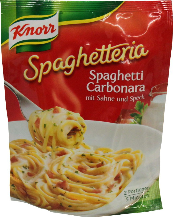knorr spaghetti carbonara instructions