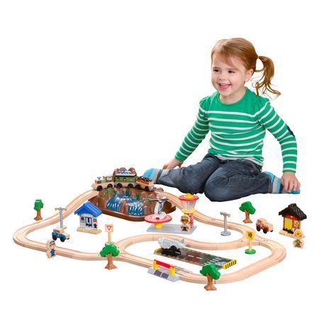 kidkraft train track assembly instructions