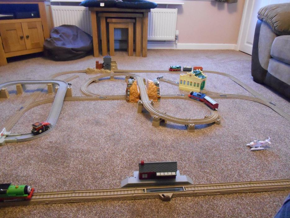 thomas and friends train set instructions