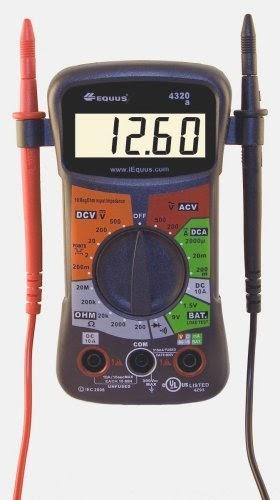 equus 4320 digital multimeter instructions