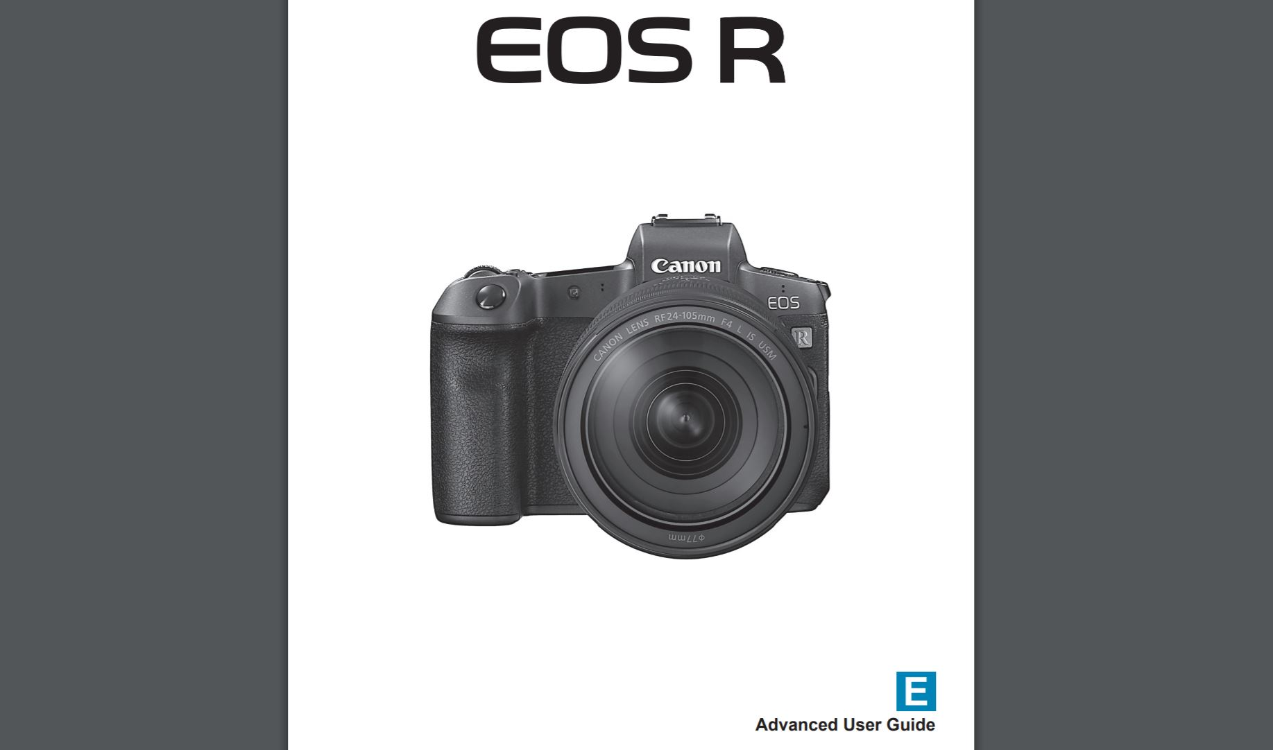 canon digital rebel xti instruction manual