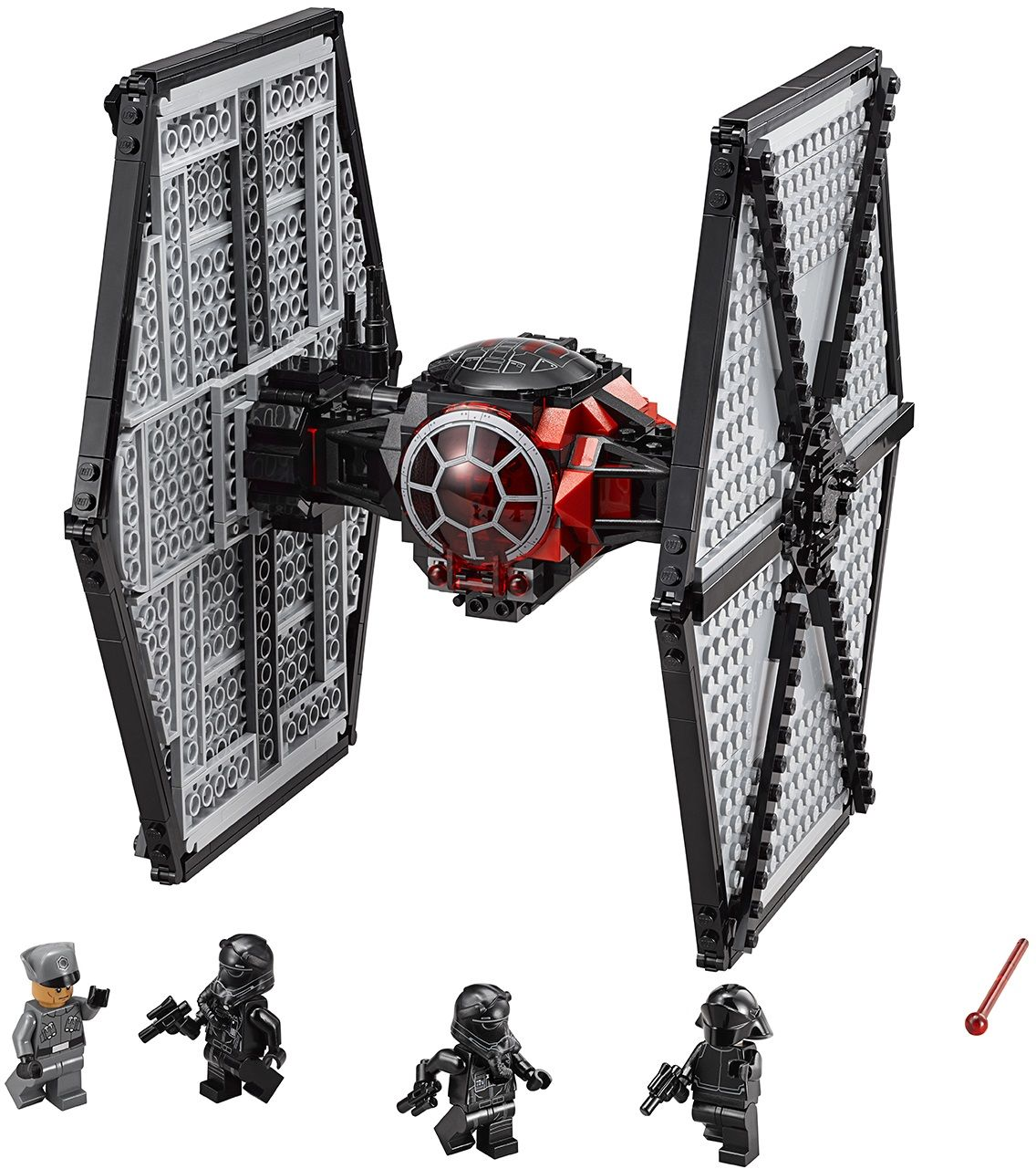 lego microfighters tie fighter instructions
