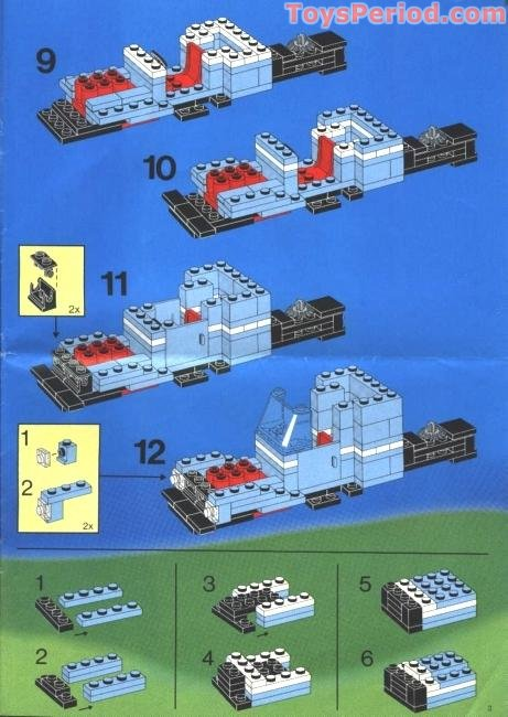 lego maersk train instructions