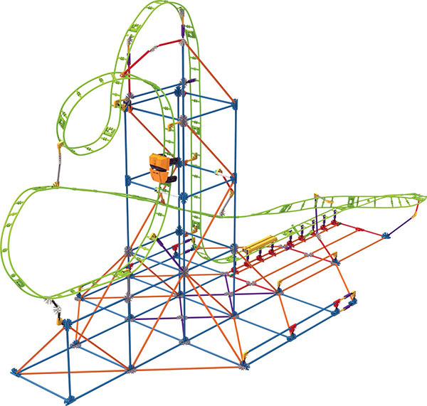 k nex speed coaster instructions