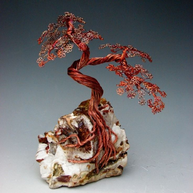 copper wire tree sculpture instructions