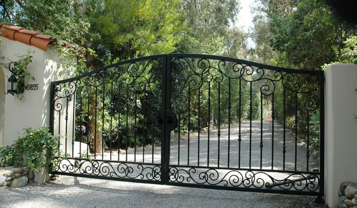 driveway gate installation instructions