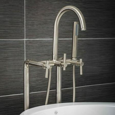 freestanding tub filler installation instructions