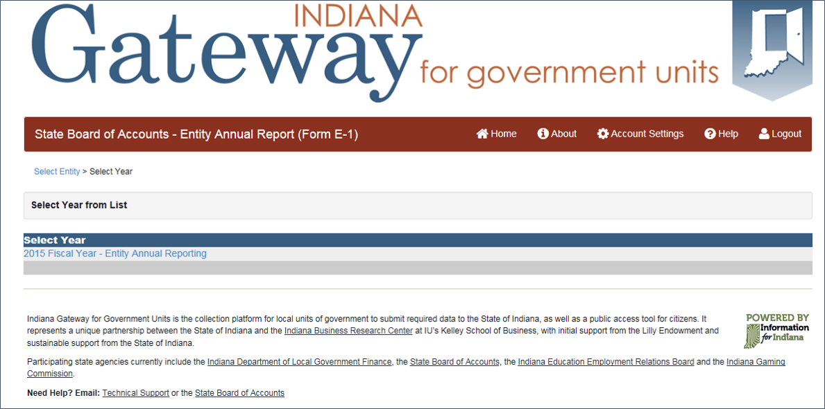 indiana business entity report instructions