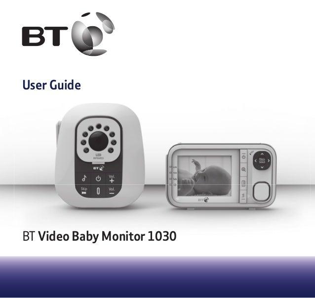 vtech baby monitor instruction manual