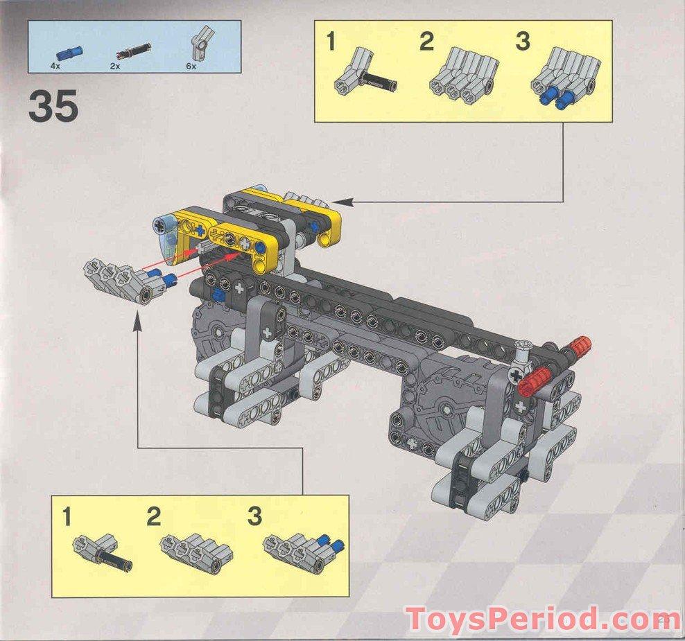 lego giant man instructions