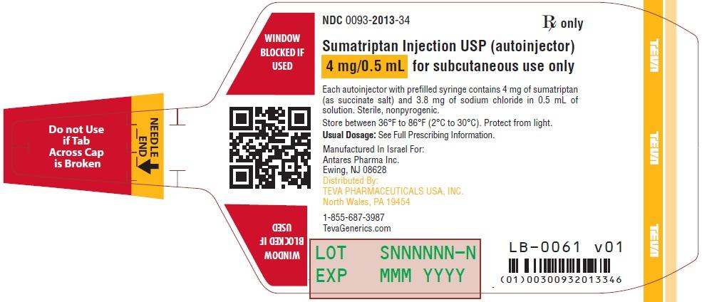 sumatriptan succinate injection instructions