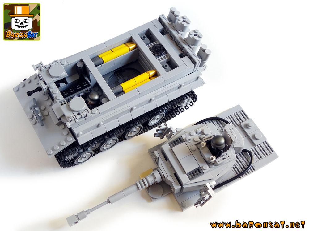 lego tiger tank instructions