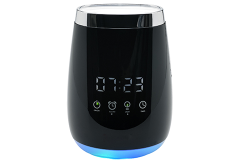 aroma time alarm clock diffuser instructions