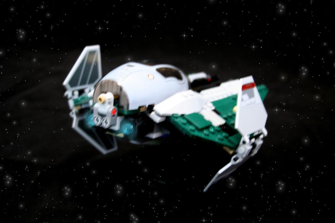 jedi interceptor lego instructions