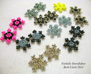 beaded snowflake ornament instructions