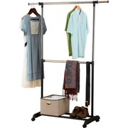 mainstays double hanging closet organizer assembly instructions