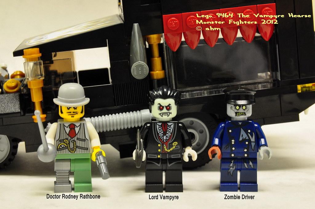 lego vampyre hearse instructions