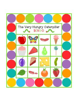 the very hungry caterpillar card game instructions