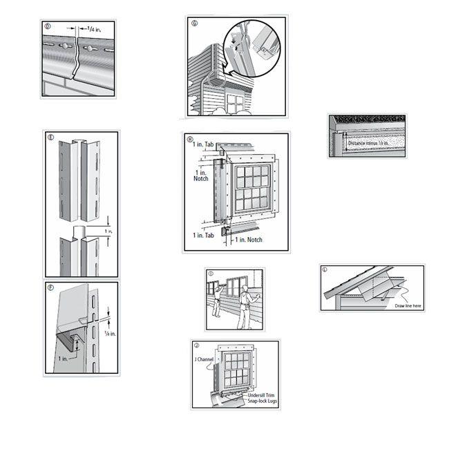 aluminum soffit installation instructions