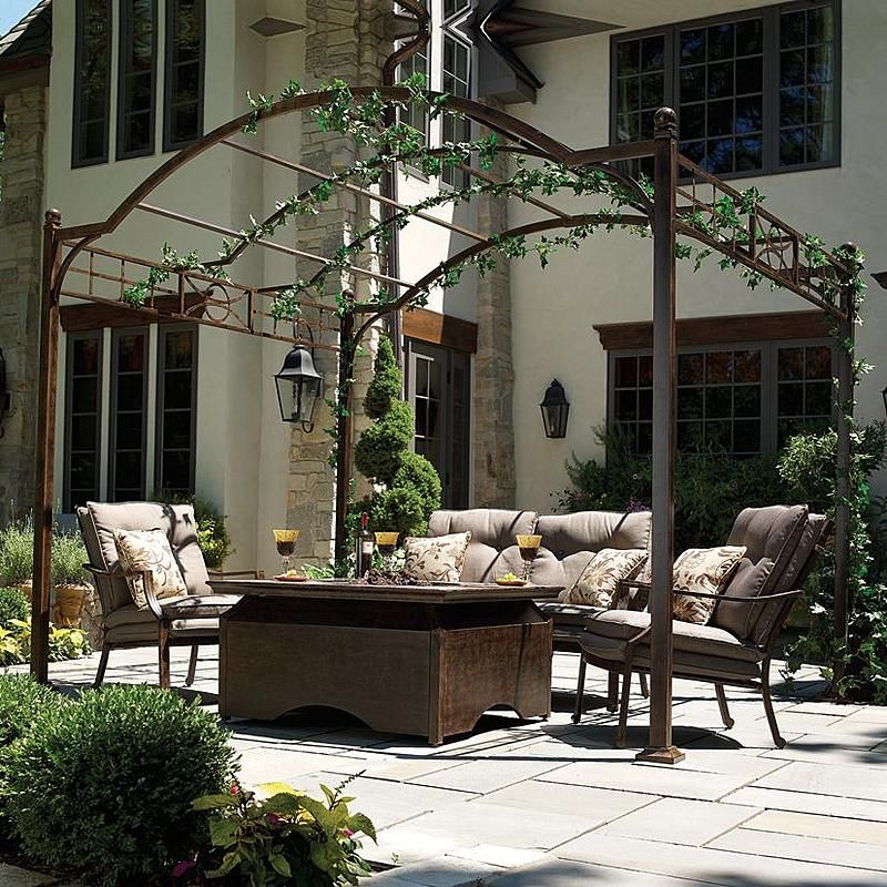 backyard discovery oasis pergola instructions
