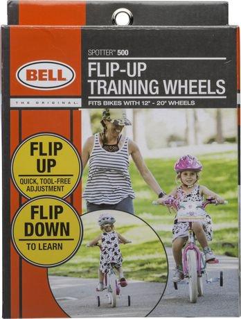 bell spotter 500 training wheels instructions