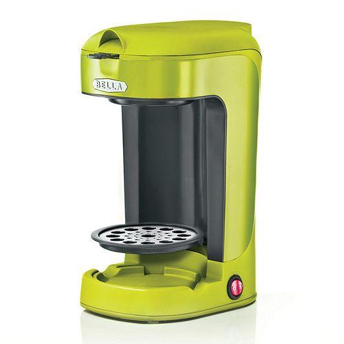 bella single serve coffee maker instructions