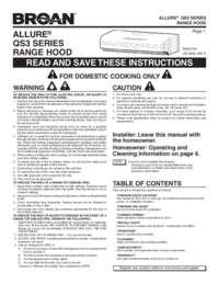 broan 509s installation instructions
